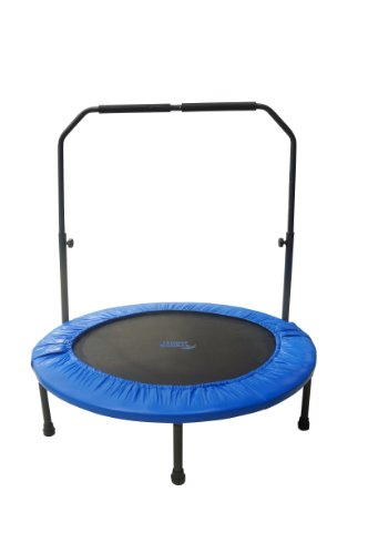 48-Mini-IndoorOutdoor-Foldable-Trampoline-with-Adjustable-Handrail