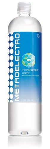 Metroelectro Micronutrient Water, 1 Liter Bottles (Pack of 12)