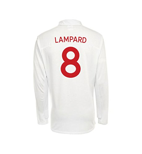 все цены на Umbro LAMPARD #8 England Home Jersey Long Sleeve онлайн