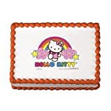 Hello Kitty Edible Image Cake Decoration Topper