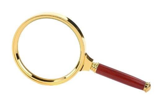 PPLS 拡大鏡 虫眼鏡 ルーペ 直径80mm