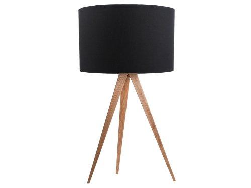 Zuiver Desinger Tischleuchte Tripod Table Schirm schwarz - Füße natur