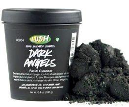 Lush Cosmetics Dark Angels Soft Charcoal & Sugar Scrub, 8.4 Ounces