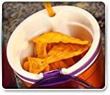 Set of 2 Snackeez Cup-| the All-in-one, Go Anywhere Snacking Solution! As Seen on Tv Assorted