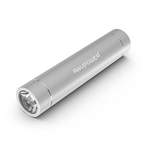 RAVPower Portable Charger 3200mAh External Battery Pack Powe