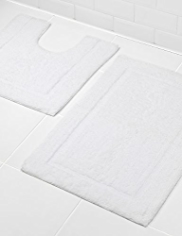 Egyptian Cotton Bath & Pedestal Mats