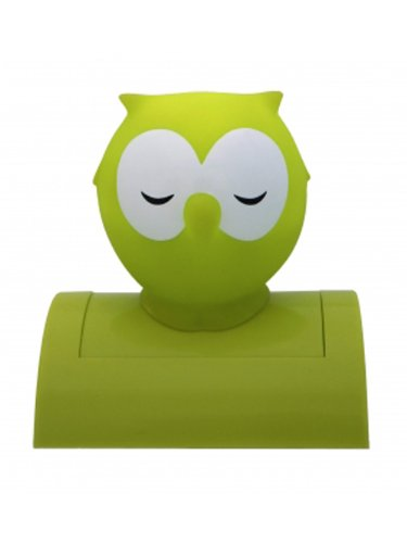 Green Night Owl Night Light