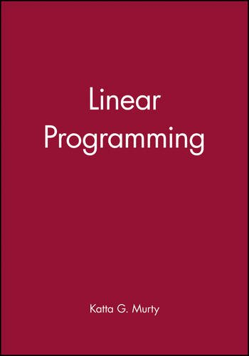 Linear Programming (Linear Programming Katta Murty compare prices)