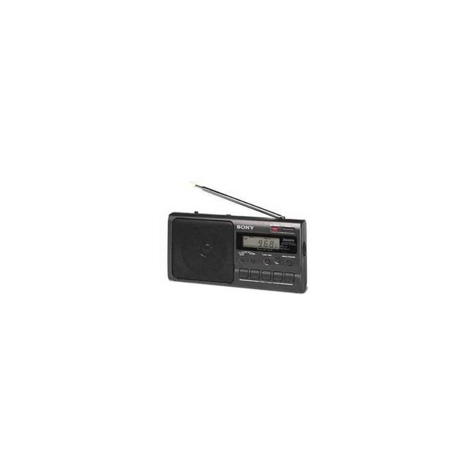 Sony ICF M350S tragbares Radio schwarz Heimkino, TV