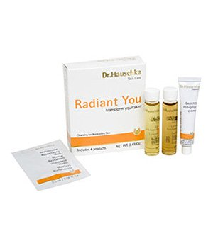at buy dr hauschka skin care radiant you set for normal dry skin anti aging skin care. Black Bedroom Furniture Sets. Home Design Ideas