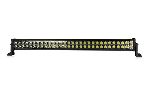 """Lite Wheels Double Row 33"""" 180W Cree Led Work Light Bar For Fire Engine, Police Cars, Rescue Vehicle"""