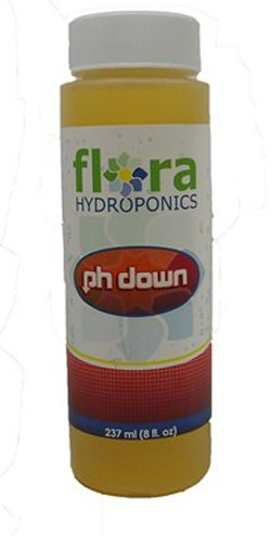 Flora Hydroponics Ph Down 8Oz