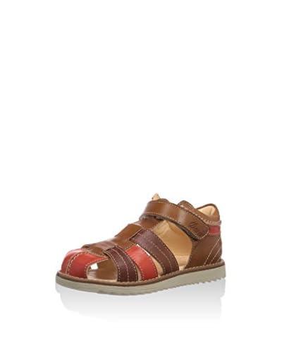 Ocra Sandalo Flat [Blu]
