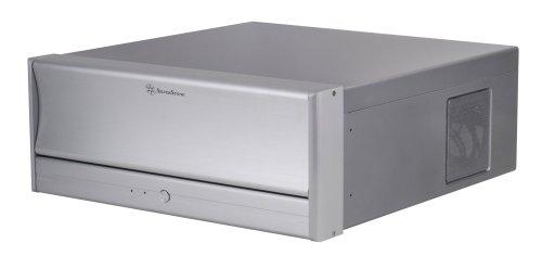 SilverStone LC13S-E Aluminum/Steel ATX Media Center/HTPC Case - Retail (Silver) (Media Center Htpc Case compare prices)