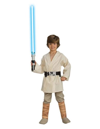 Luke Skywalker Deluxe Child Large Kids Boys Costume