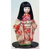 東芸:木目込人形材料セット 四季の市松人形(春) K400-15【お取寄せ商品】
