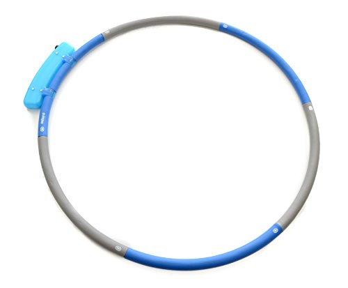 3 Pound Hula Hoop With Optional Weight Increase, Great For Ab Exercises and Core Workout