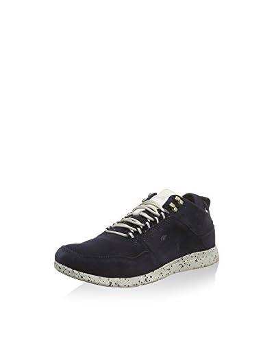 Boxfresh Sneaker Ashmore Ug Sde Nvy/off Wht blau