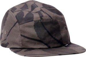 Girl Foliage Grey / Black 5 Panel Camper Hat