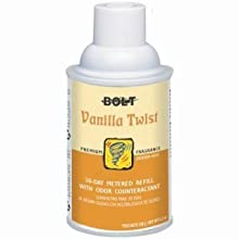 Bolt BLT 865 Air Freshener With Odor Eliminator Counteractant Refill, Vanilla Twist (Case of 12)