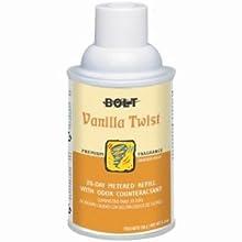 Bolt BLT 865 Air Freshener With Odor Eliminator Counteractant Refill, Vanilla Twist (Case of 12)