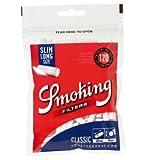 [smoking] スモーキング クラシック スリムロング フィルター 120個入×6 手巻きタバコ シャグ