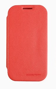 G2 Case, Mercury Fancy Flip Style Diary Case For Lg Optimus G2 (3 Colors) Wallet Style (At&T, Verizon, Sprint, T-Mobile) - Retail Packaging (Red)