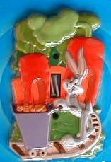 Bugs Bunny Light Switch Plate - 1