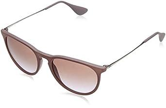 ray ban womens erika round sunglasses sand