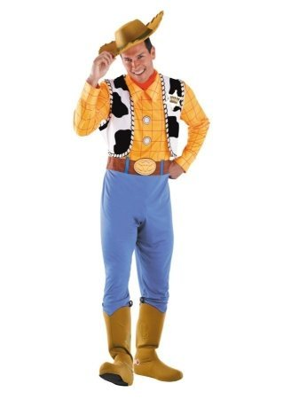 Costumes For All Occasions Dg50550C Woody Deluxe Adult 50-52