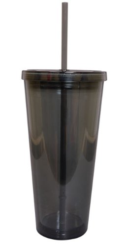 Insulated Cup With Straw front-99547