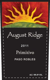 2011 August Ridge Primitivo 750 Ml