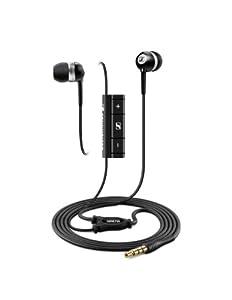 Sennheiser MM 70 i - Micro-auriculares de tapón de tipo in-ear canal estéreo con control remoto