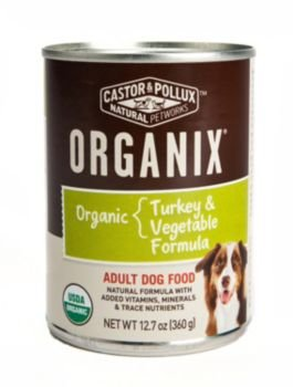 Organix Can Dog Food 12.7oz Turkey/Carrot/Potato