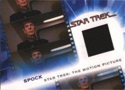 Complete Star Trek Movies MC2 Spock Costume Card #542