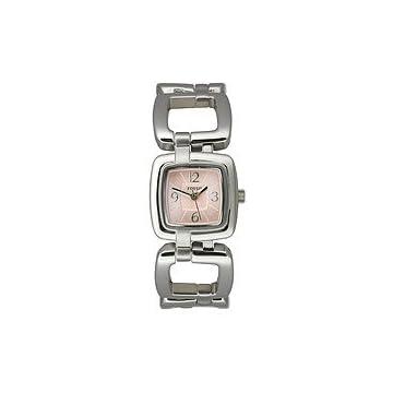 Fossil Women's Dress Pink Adjust-O-Matic watch #ES2276