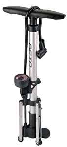 Beto Track Pump Steel Tripod Legs With Gauge (Colours May Vary)