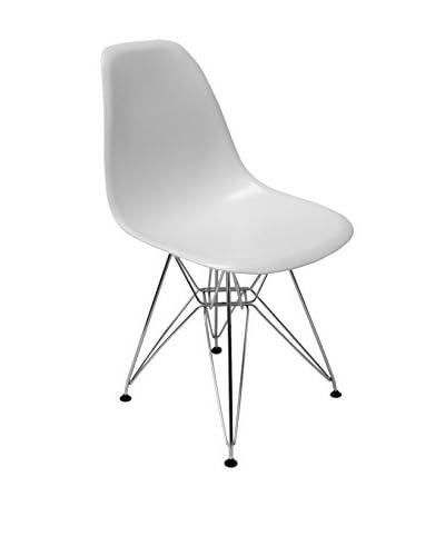 Aeon Chantal, White Matte/Polished Stainless Steel