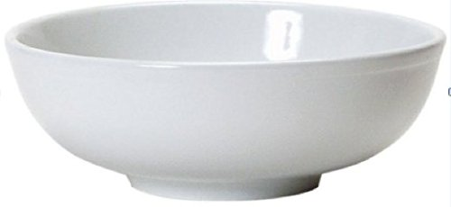 Soup Bowls - 2 White Porcelain Ceramic Vietnamese Pho Japanese Ramen Noodles Menudo Pasta Popcorn Fruit Dessert Serving Dishes (8.5 inches) (Large White Pasta Serving Bowl compare prices)