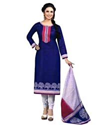 Airfashion Women's Unstiched Dress Material (SG-717_Multi_Free Size)
