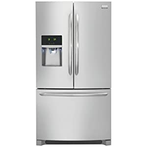 Frigidaire Gallery FGHB2844LF, 27.8 Cubic Ft French Door Refrigerator