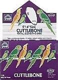 Vo-Toys Cuttlebone 5 to 6in in 1lb Bulk for Birds