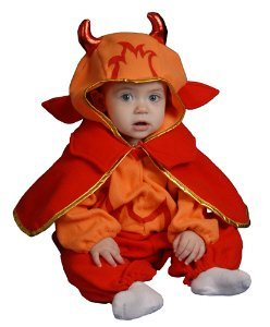Baby Devil Bunting Infant Halloween Costume Size 0-12