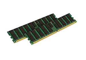 Kingston Technology 8GB Kit (2 x 4GB) 400MHz DDR2 240-pin DIMM Dual Rank for select IBM Servers KTM2865/8G