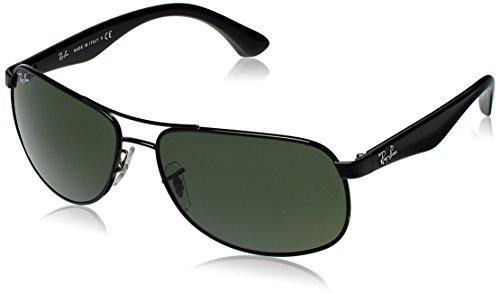 Ray-Ban Aviator Sunglasses (Black) (0RB350200261)