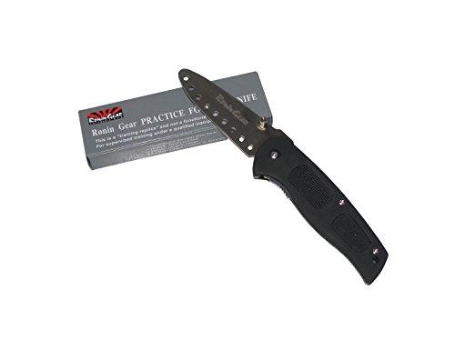Training Knife, Black Handle