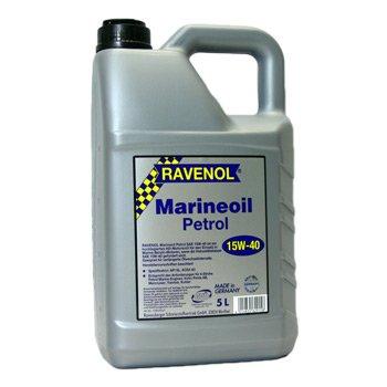 5 Liter Ravenol Marineoil Petrol SAE 15W-40 -