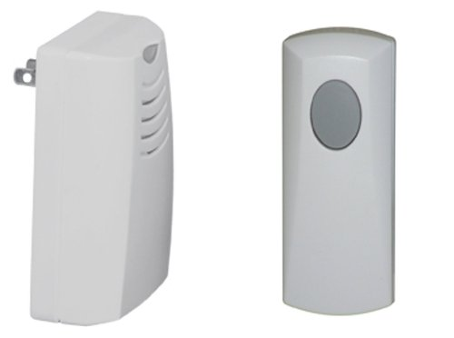 Honeywell RCWL105A1003/N Plug-in Wireless Door Chime and Push Button