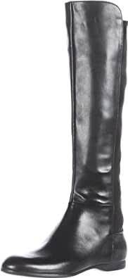 Enzo Angiolini Women's Zeric Knee-High Boot,Black Leather,8 M US