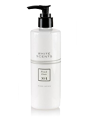 White Scents French Linen Hand Lotion 300ml